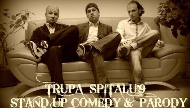 spitalu 9 stand up comedy parody lugoj