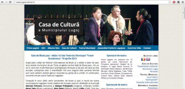 casa de cultura pagina web foto lugojeanul 2013