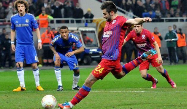 chelsea steaua meci uefa europa league londra avantaj romania stelisti lugojeanul 2013
