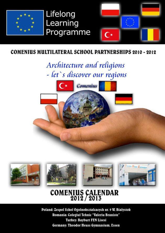 colegiul braniste calendar comenius 2012-2013 pentru concursul made for europe lugojeanul 2013