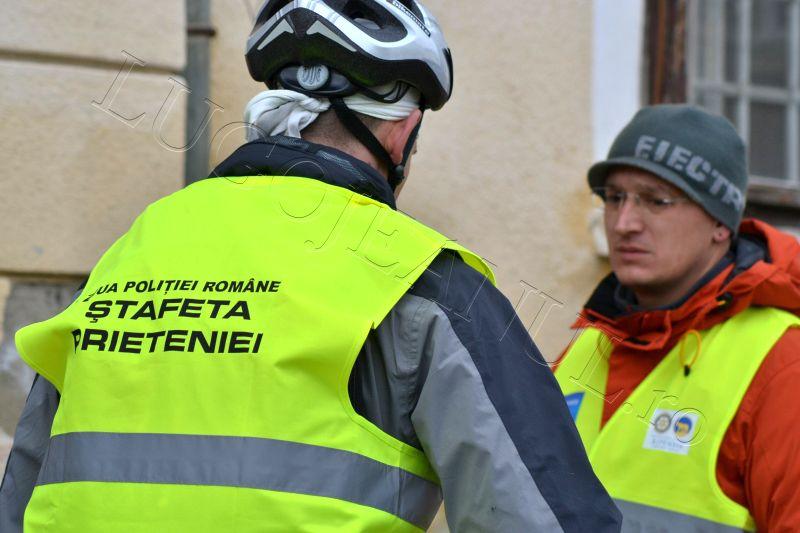 foto stafeta prieteniei lugoj politia biciclisti 2013 lugojeanul (4)