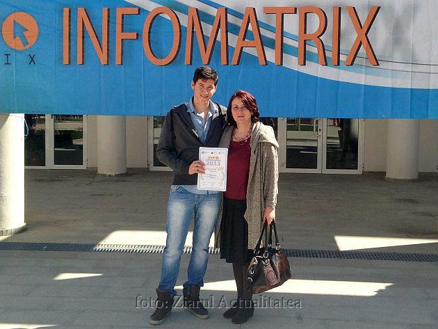 concursul infomatrix dennis makula marineta jeberean locul 3 calificare faza internationala lugojeaul 2013
