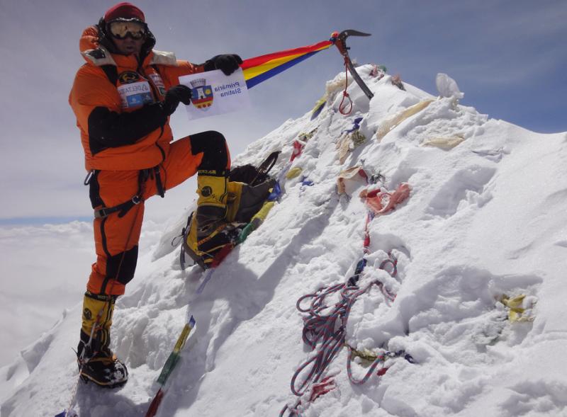 horea colibasu expeditie himalaya lhotse 8 aprilie lugojeanul 2013