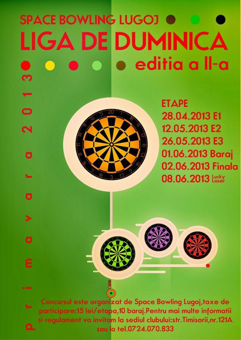 liga de duminica darts clubul space bowling lugoj 28 aprilie lugojeanul 2013