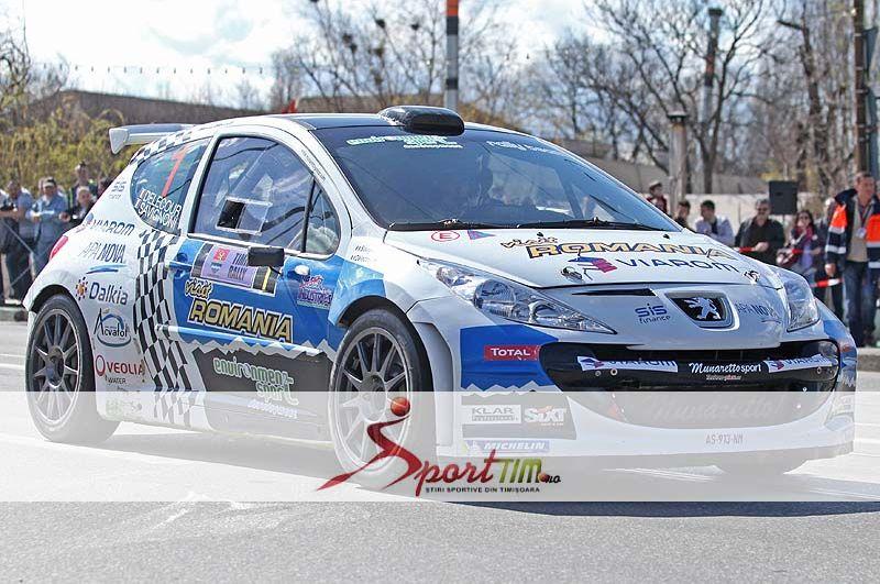 timis rally 2013 francois delecour castiga raliul timisului 13 aprilie 2013 lugojeanul 2