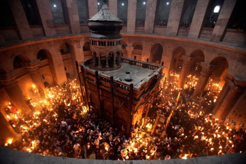 ierusalim biserica sfantului mormant lumina sfanta romania charter timisoara lugoj adrian ardelean lugojeanul 2013