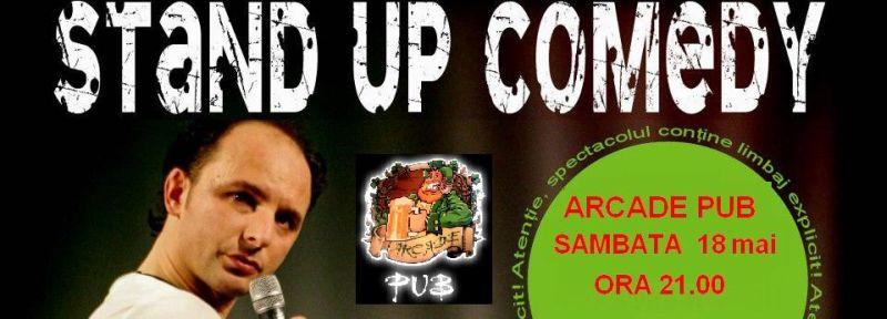 stand-up comedy marius spitalu9 18 mai 21 arcade pub recomandare lugojeanul 2013