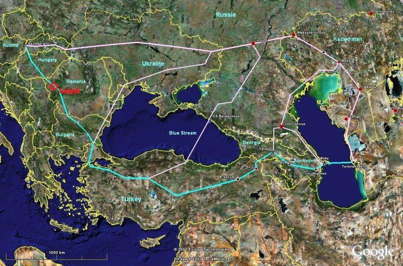 nabucco gazoduct lugoj trebuia sa treaca anulat birocratie lugojeanul 2013
