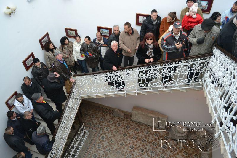 1 decembrie 2013 ziua nationala a romaniei lugoj deschiderea muzeului de istorie vizita foto galerie lugojeanul (5)
