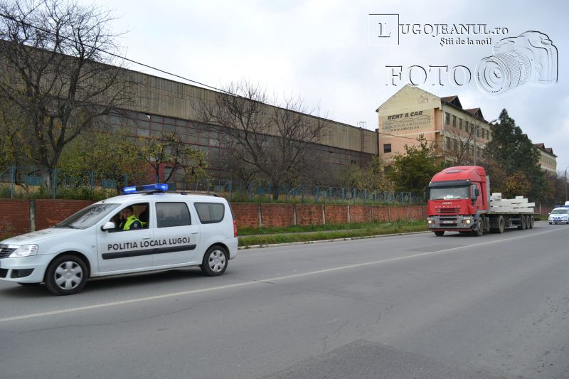 transport agabaritic la Lugoj stalpi piata renovata 18 noiembrie 2013 lugojeanul (1)