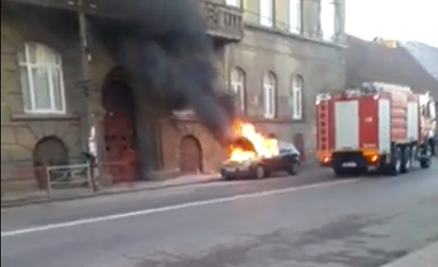 incendiu masina lugoj caransebesului video 23 decembrie 2013
