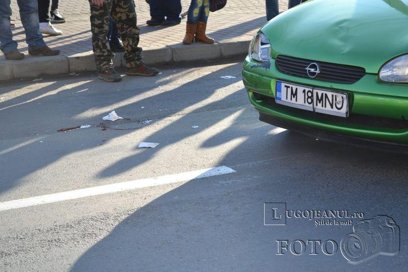 accident universitate biciclist lovit masina nerespectare reguli 6 decembrie 2013 lugojeanul foto (11)