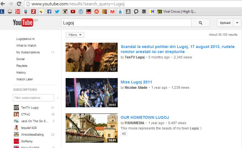 lugoj pe youtube