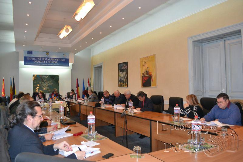 sedinta consiliu local extraordinara buget 2014 lugojeanul foto