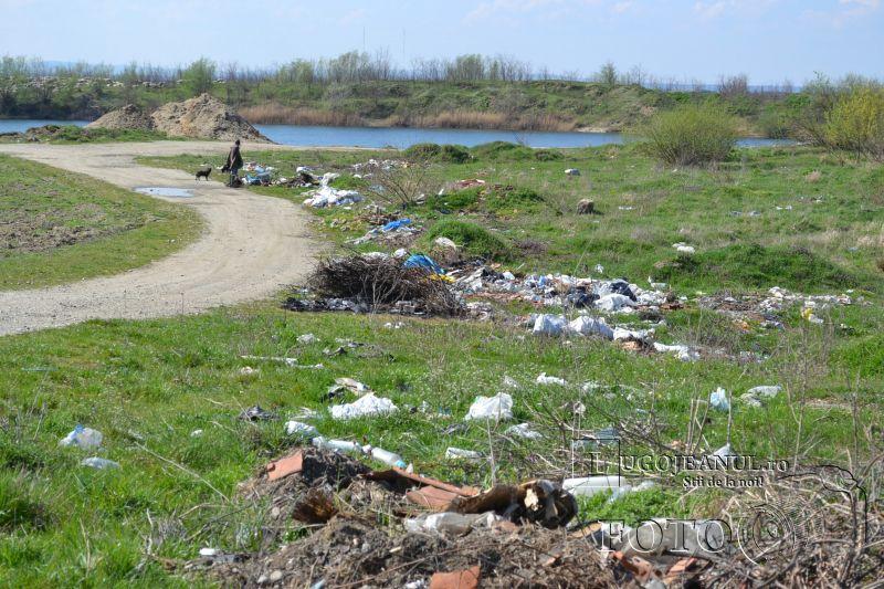 groapa de gunoi clandestina centura lugojului focar de infectie foto galerie 27 martie 2014 (1)