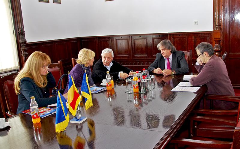 Intalnire cu delegatie Varset