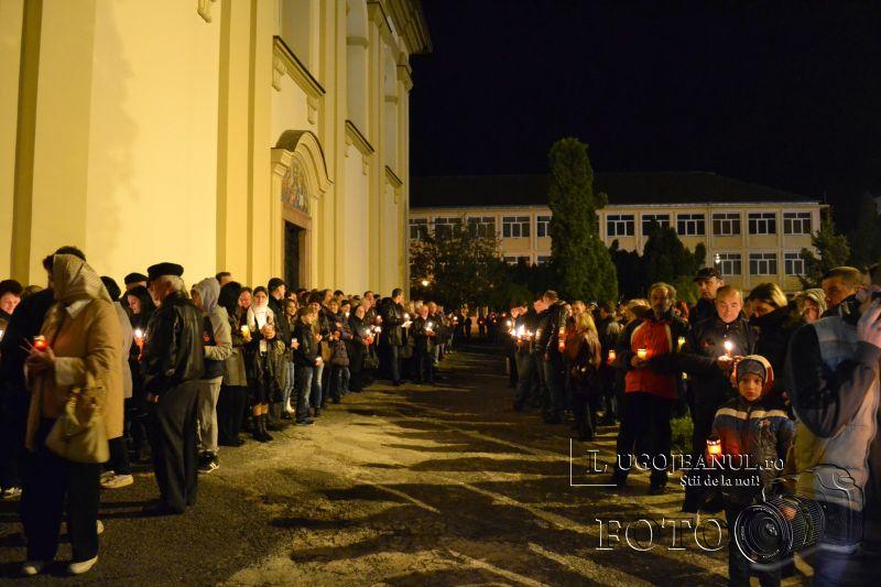 hristos a inviat paste lugoj 2014 biserica adormirea maicii domnului lumina sfanta foto galerie lugojeanul (11)