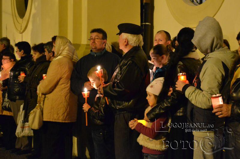 hristos a inviat paste lugoj 2014 biserica adormirea maicii domnului lumina sfanta foto galerie lugojeanul (12)