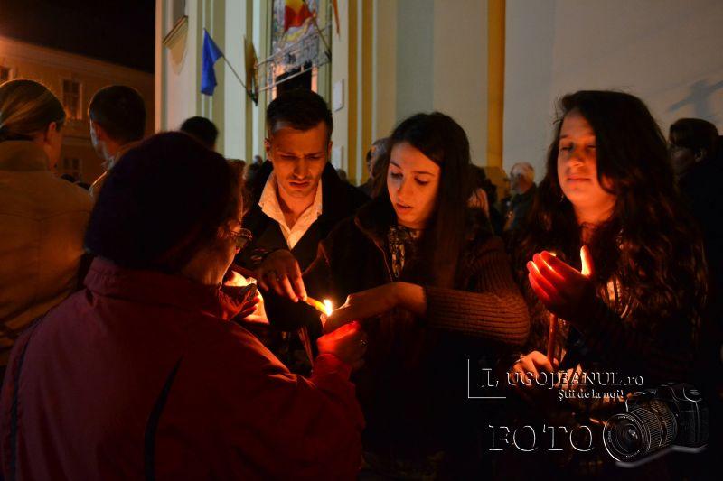 hristos a inviat paste lugoj 2014 biserica adormirea maicii domnului lumina sfanta foto galerie lugojeanul (7)