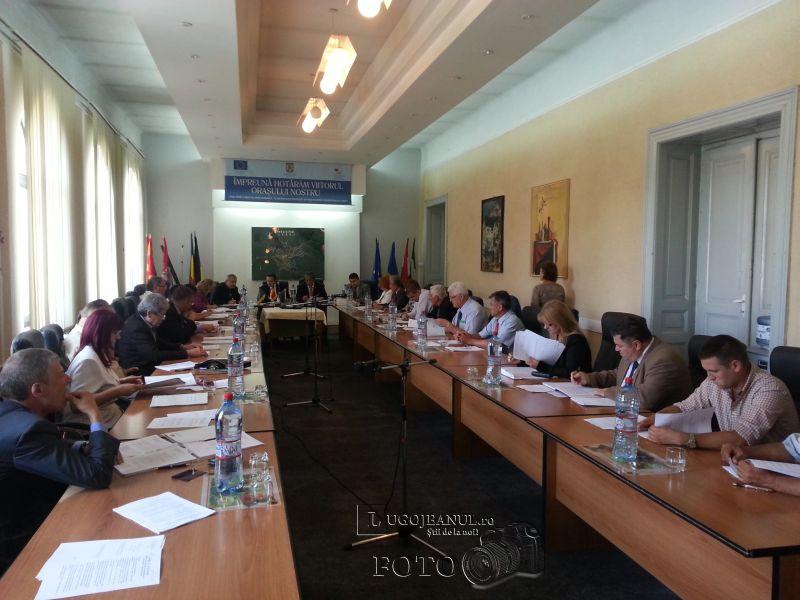 consiliul local lugoj consiliu sedinta ordinara