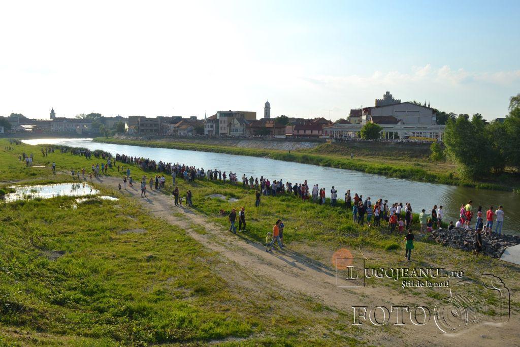 inaugurare pod pietonal lugoj 21 mai 2014 foto lugojeanul (11)