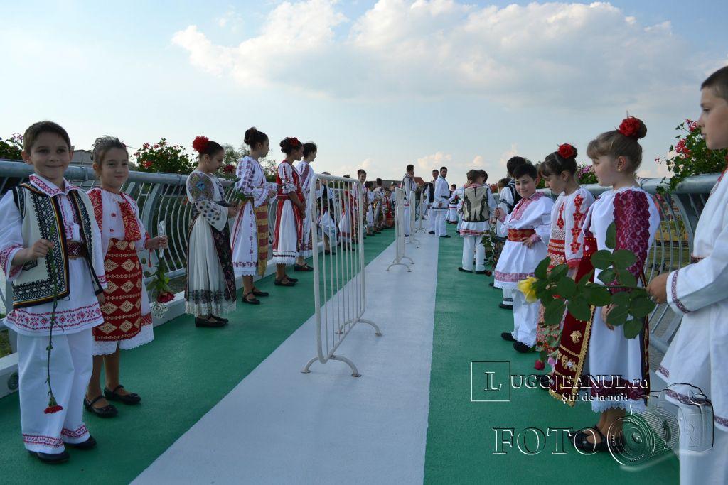 inaugurare pod pietonal lugoj 21 mai 2014 foto lugojeanul (2)