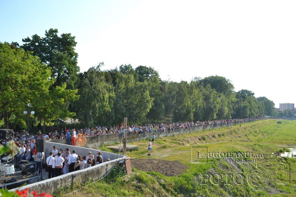 inaugurare pod pietonal lugoj 21 mai 2014 foto lugojeanul (3)