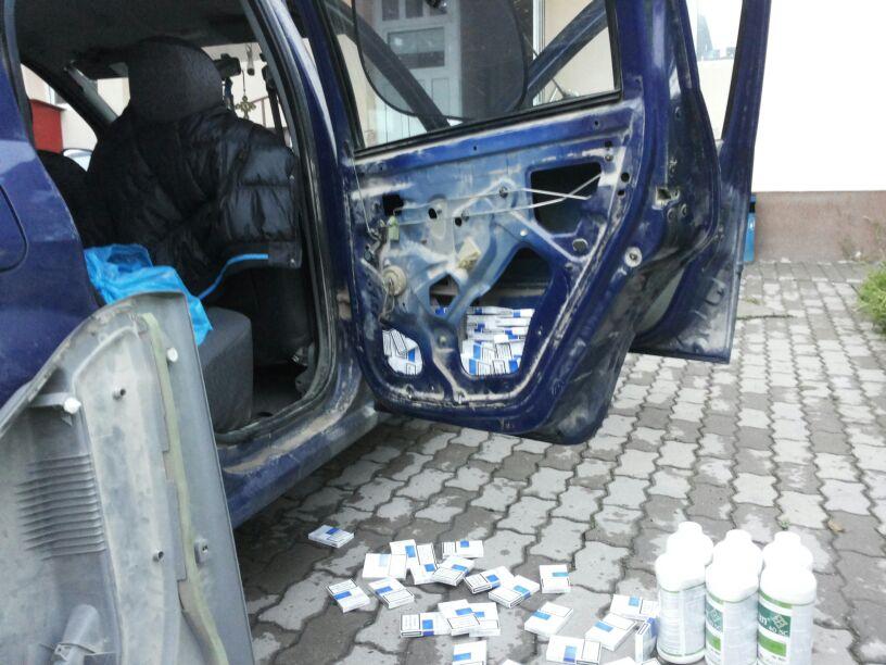 tigarete in portierele masinii lugojean prins la deta contrabanda tigari politia frontiera control ancheta inchisoare catuse infractiune (3)
