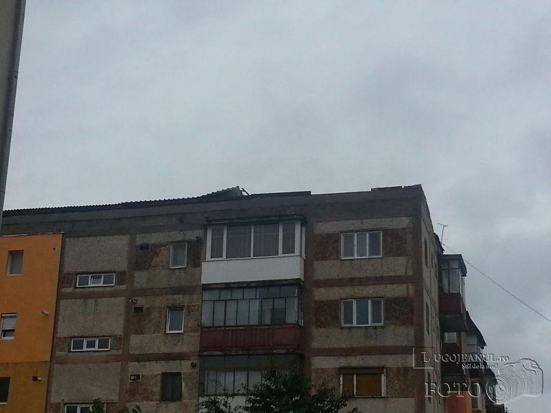furtuna lugoj 30 iunie 2014 vant ploi copaci smulsi acoperis smuls bloc cotu mic caramizi picate masini video foto lugojeanul 2014 (8)