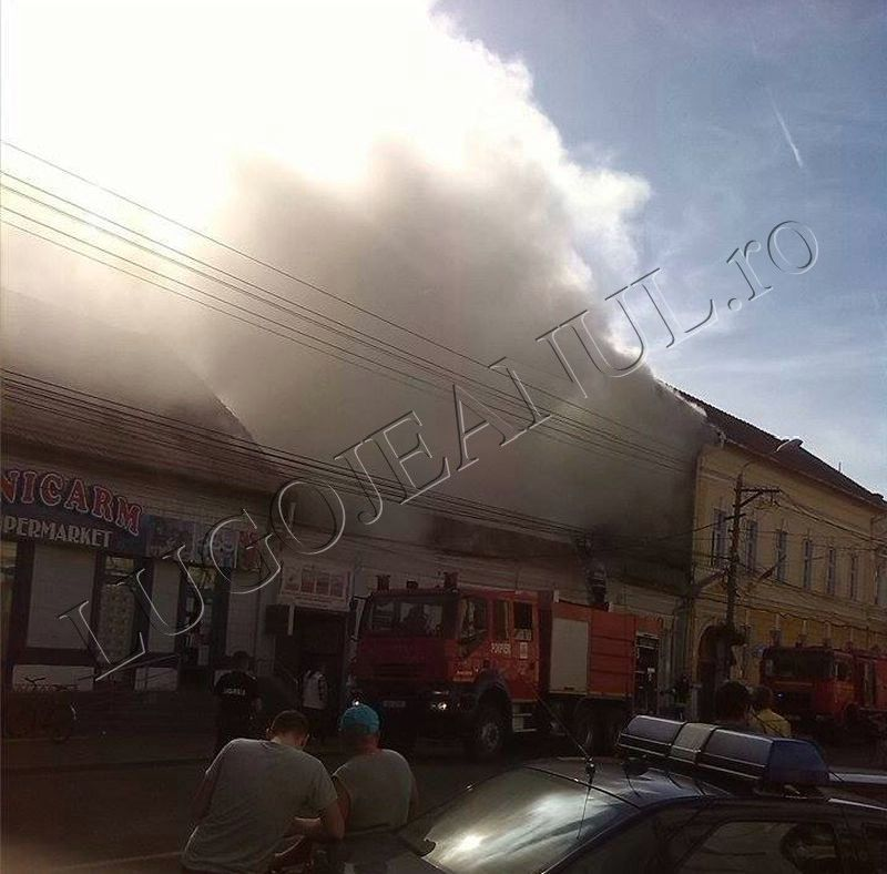 incendiu foc flacari fum bike shop unicarm scoala numarul 6 anisoara odeanu lugoj foto galerie 12 iunie 2014 lugojeanul (2)