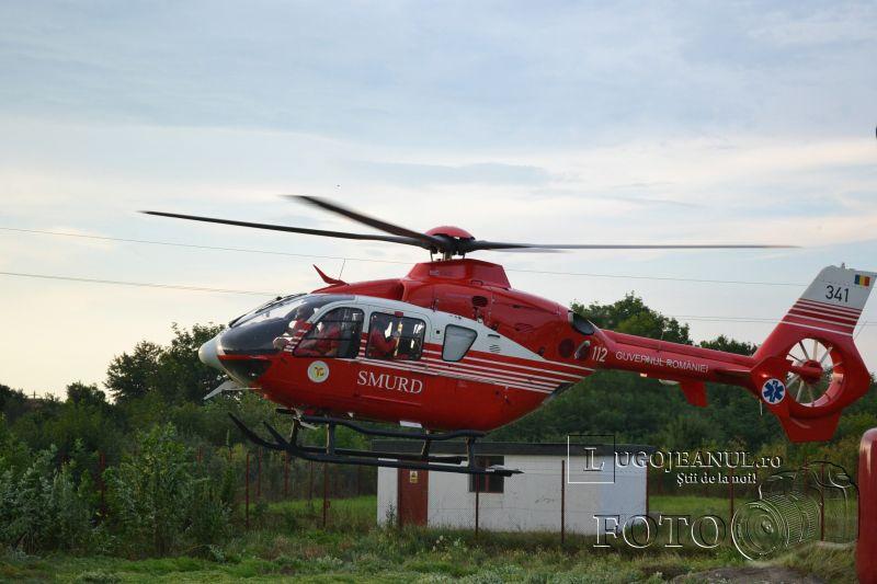 accident chizatau 17 iulie 2014 5 victime elicopter smurd ambulante pompieri impact frontal lugojeanul foto (7)