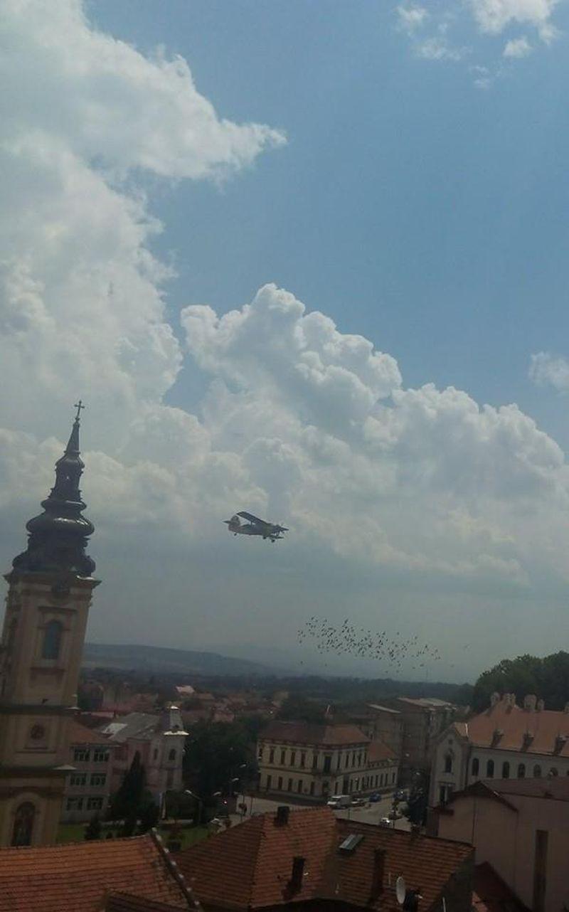 avion lugoj dezinsectie aerochimica 9 iulie 2014 foto video lugojeanul (2)