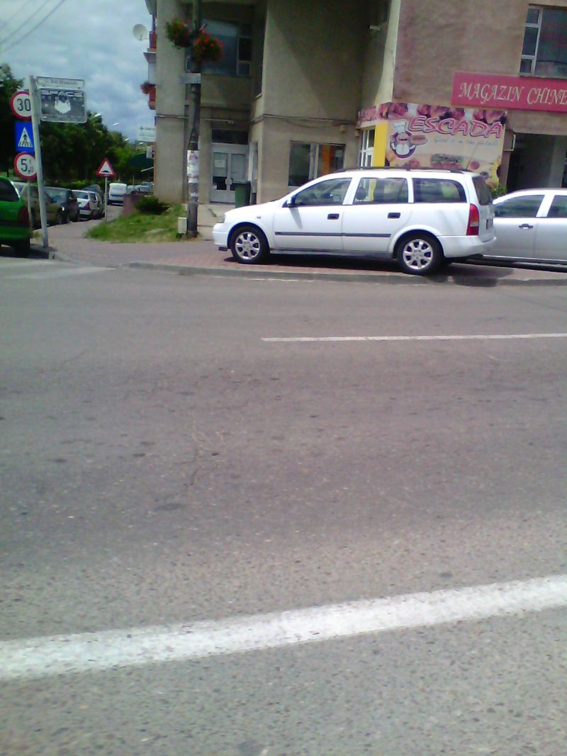 bizoni lugoj trafic parcari ilegale trotuar foto galerie zona unic lugojeanul 2014 (2)
