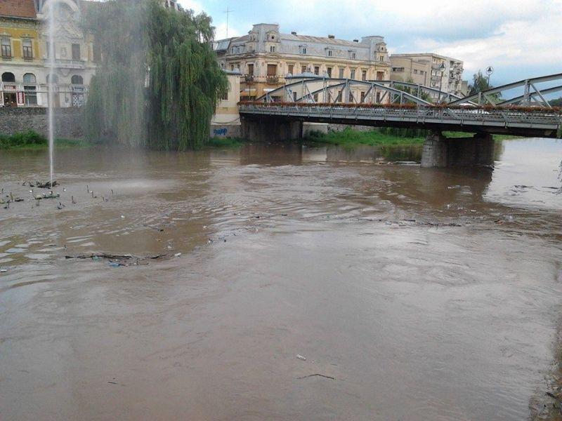 fantana lui boldea inundata de timisul negru foto galerie 12 iulie 2014 lugojeanul foto (3)