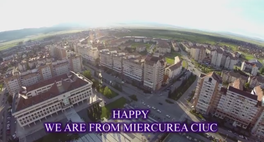 happy miercurea ciuc lugoj clip we are happy pharrell williams romania