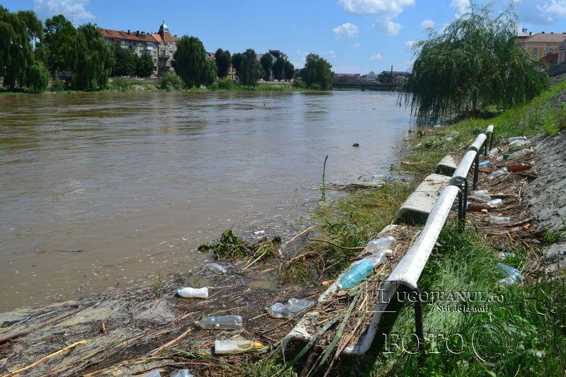 pericol inundatii lugoj 13 iulie 2014 fantana distrusa apa inunda malurile timis foto video lugojeanul (2)