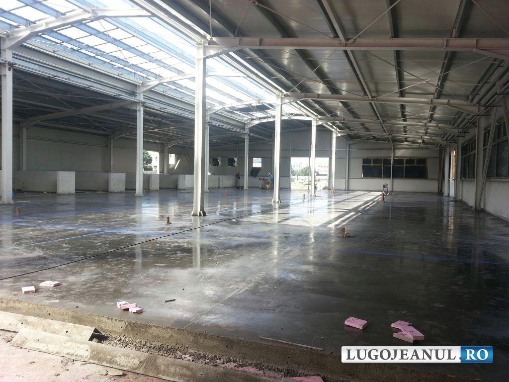 panorama foto galerie piata din lugoj bazin acoperit lucrari august 2014 lugojeanul foto (2)