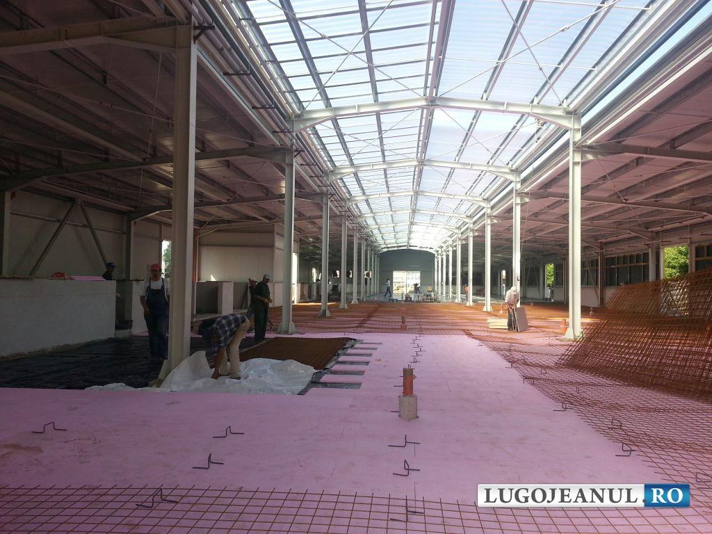 panorama foto galerie piata din lugoj bazin acoperit lucrari august 2014 lugojeanul foto (6)