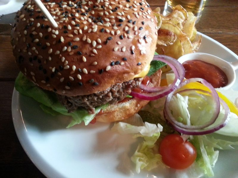 la strada bistro timisoara burger joint