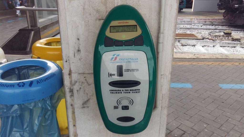 Dacă nu introduceți biletele în mașinărie înainte de îmbarcare și vine controlul... amendă usturătoare