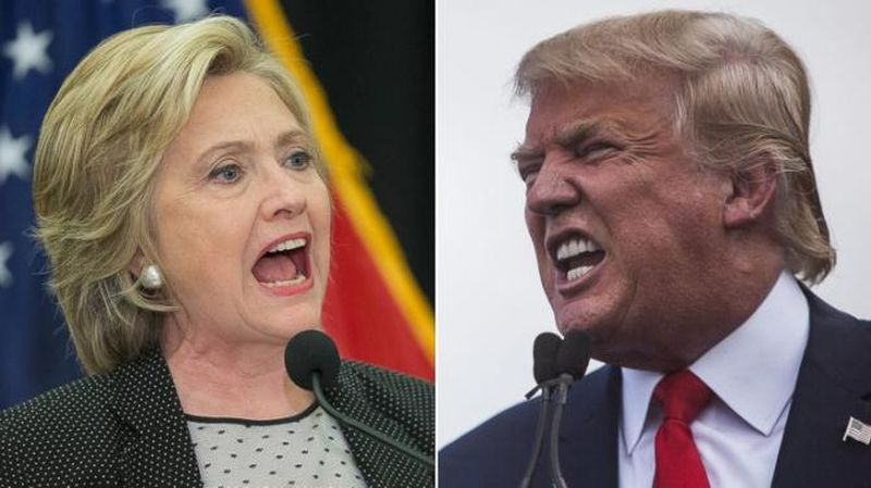 trump vs clinton