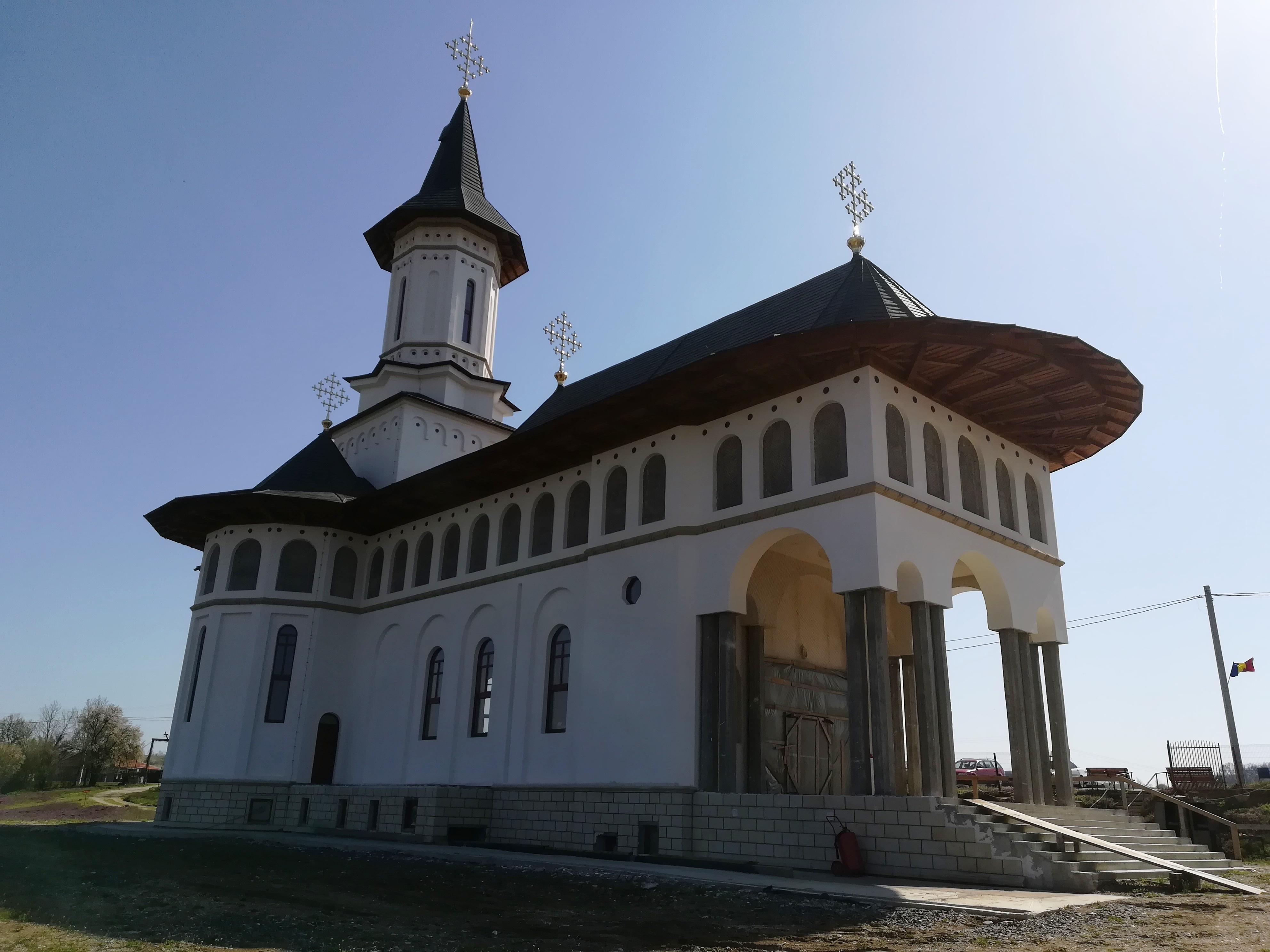 Manastirea de la Dobresti se apropie de finalizare