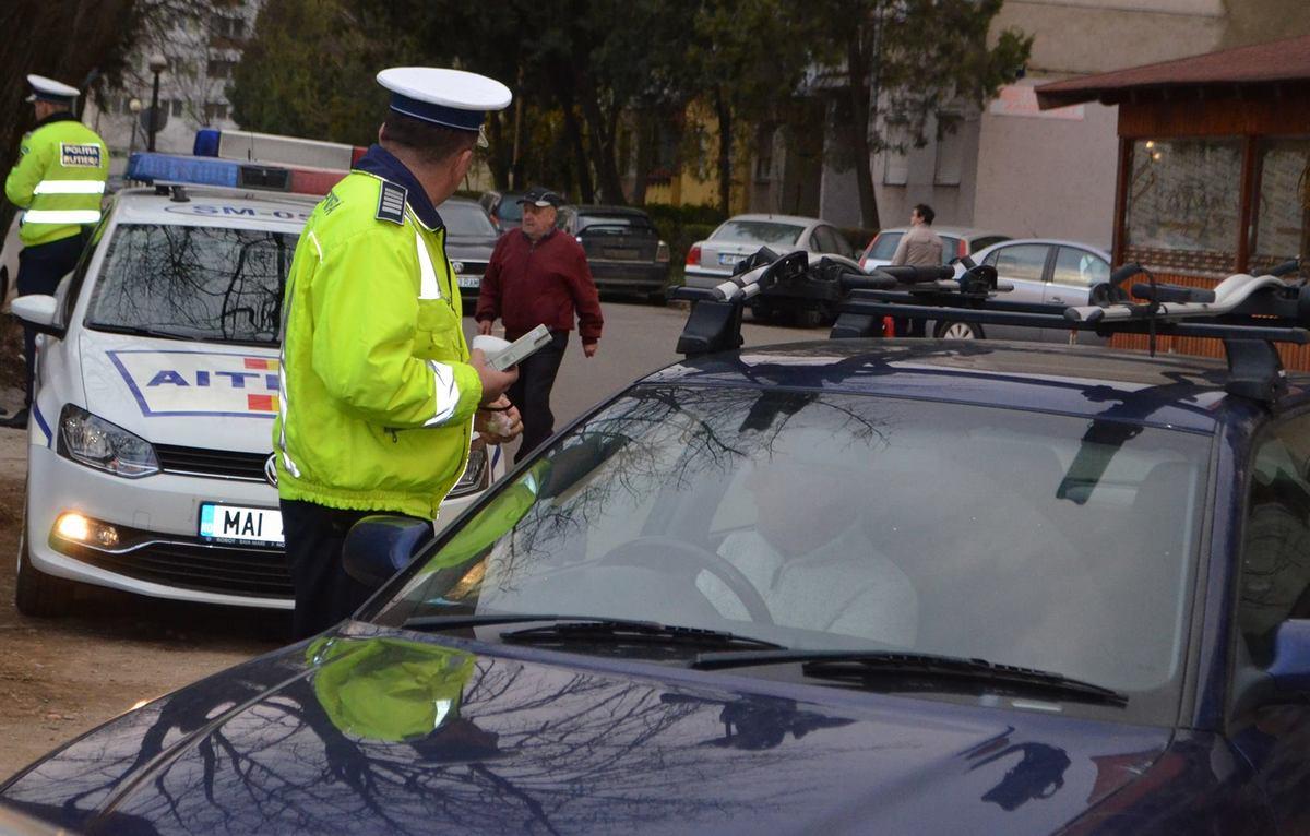 polițiștii rutieri